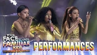 Video Your Face Sounds Familiar Kids 2018: TNT Boys as Jessie J., Ariana Grande, & Nicki Minaj | Bang Bang MP3, 3GP, MP4, WEBM, AVI, FLV Januari 2019