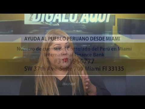 Miami se solidariza con los damnificados en Perú – Digalo Aqui 22-03-2017 Seg. 05