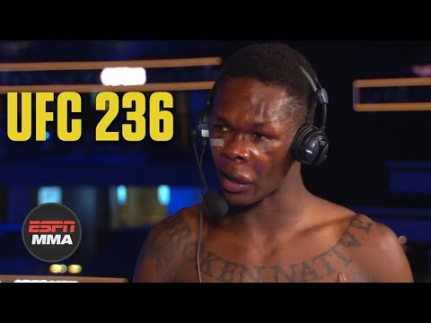 Israel Adesanya is in the UFC to prove himself right   UFC 236   ESPN MMA