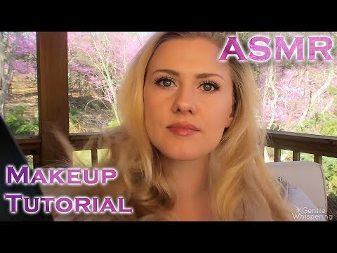 ASMR 🗻 Make Up Tutorial In Nature 🗻 Soft Spoken