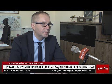 Wideo1: Prezydent Łukasz Borowiak o czekających nas inwestycjach drogowych w granicach Leszna