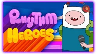 Adventure Time - Rhythm Heroes [ Full Games ] - Adventure Time Games ᴴᴰ