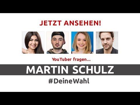 #DeineWahl - YouTuber fragen Martin Schulz