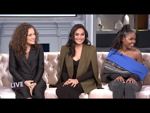 FULL INTERVIEW: The Cast of 'Star' Talks Pregnancy and Auditioning! – Part 1