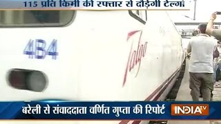 Bareilly India  city pictures gallery : Trial Run of Talgo Train Begins at Bareilly-Moradabad Route