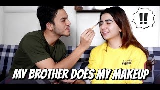 Video MY BROTHER DOES MY MAKEUP (DIDANDANIN RIZKY NAZAR) MP3, 3GP, MP4, WEBM, AVI, FLV Juli 2019