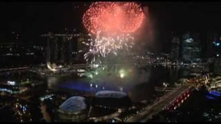 Marina Bay Singapore Countdown 2012