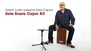 Hakim Ludin presents Cajon Kit Videos 2