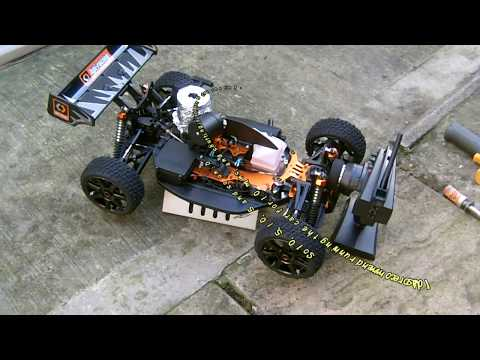 HPI Trophy 3.5 - Here is the First start of the HPI Trophy 3.5. Despite it being very cold, the engine started first pull, stock setup on 20% Nitro. Later I will do full brea...