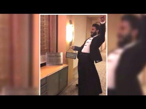 Oh God! Ranveer Singh Shows Off His CRAZY Side Onc
