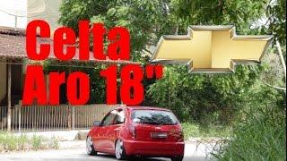 Celta + Aro 18x6 + Fixa - Jourdan de Volta Redonda RJ - Modificarros
