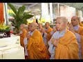 Lễ Húy kỵ lần thứ 22 của cố Thượng Tọa Thượng Minh Hạ Phát tổ chức tại Chùa Phật Minh (Bến Tre)