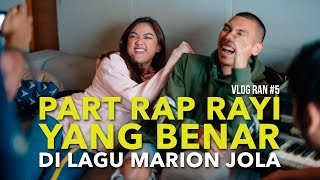 Video VLOG RAN #5 - NGERAP ALA RAYI DI LAGU MARION JOLA MP3, 3GP, MP4, WEBM, AVI, FLV Juni 2018