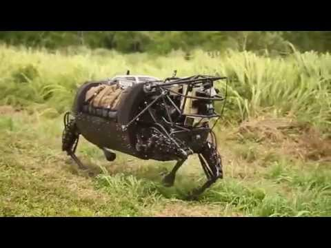 Robot horse gets first taste of realworld action with the US