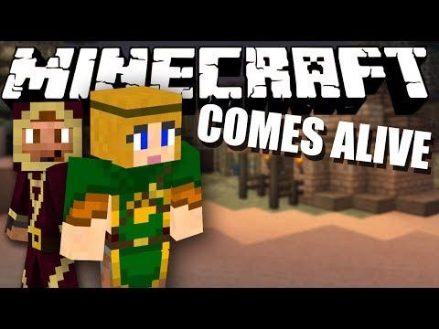 THE ESCAPE! Minecraft Comes Alive #21