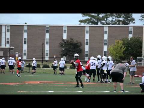 Campbell Football training camp, day 1