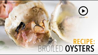 How to make Broiled Oysters