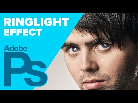 ring - In this tutorial, learn how to create a RING LIGHT effect in Adobe Photoshop, using a custom shape, layer styles, and blending tweaks. Support my content: http://www.patreon.com/howardpinsky...
