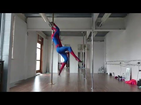 WATCH: What Do You Get When You Mix Spider Man, Michael Buble and Pole Dancing?