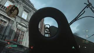 Call of Duty®  WWII destroying Care Package with Bazooka (Aachen)