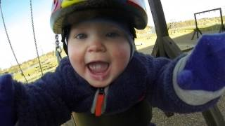 Baby Swing With GoPro View Is Super Adorable!
