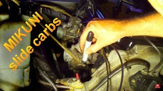 7. How To Adjust Snowmobile Carb Idle Screw Setup on Mikuni
