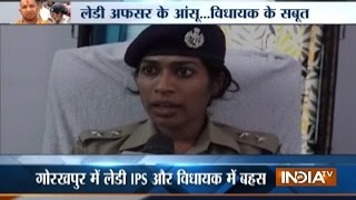 UP: BJP MLA clarifies why he scolded Moradabad Lady IPS Officer in Public
