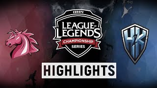 Video UOL vs. H2K - EU LCS Week 7 Day 1 Match Highlights (Spring 2018) MP3, 3GP, MP4, WEBM, AVI, FLV Juli 2018