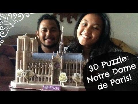 Puzzle 3D #1: Notre Dame de Paris