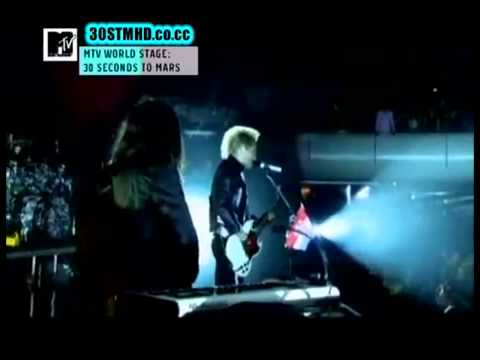 30 Seconds To Mars - MTV World Stage / full concert @ Mexico 2010