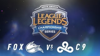 Video FOX vs. C9 - Week 5 Day 2 | NA LCS Spring Split | FOX vs. C9 (2018) MP3, 3GP, MP4, WEBM, AVI, FLV Juni 2018