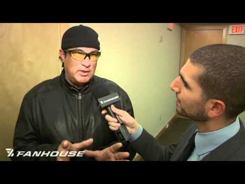 Steven Seagal Talks About Teaching Anderson Silva Front Kick to the Face