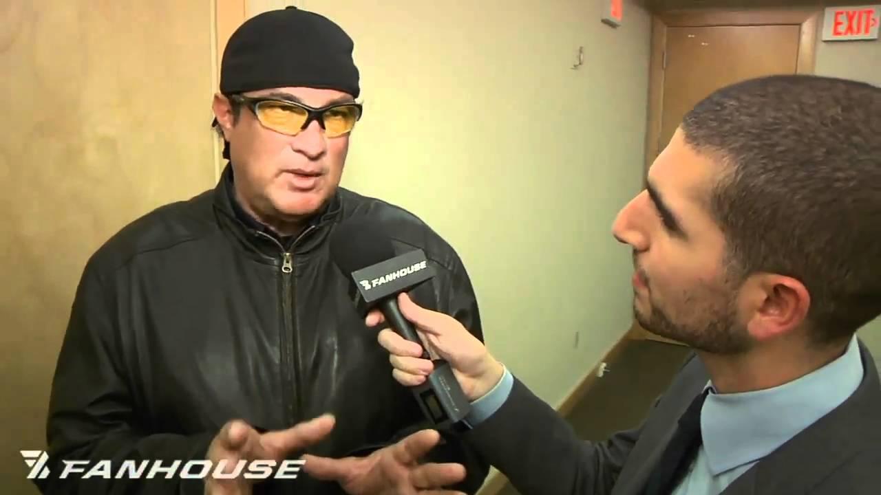 UFC 126: Steven Seagal Talks About Teaching Anderson Silva Front Kick to the Face