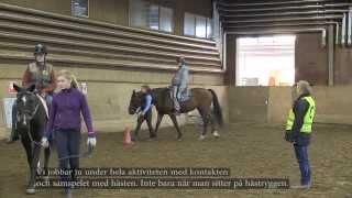 Om hästunderstödd ridterapi Falun - Aktiv Rehab & Ridterapi - Gymnasiefilmprojekt 2014