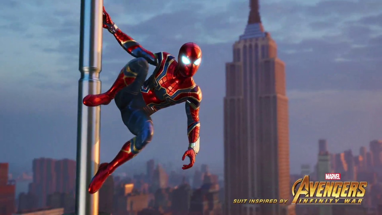 PS4『Marvel's Spider-Man』預購特典「Iron Spider Suit」宣傳影片