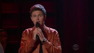 Video Ansel Elgort singing Easy MP3, 3GP, MP4, WEBM, AVI, FLV April 2018