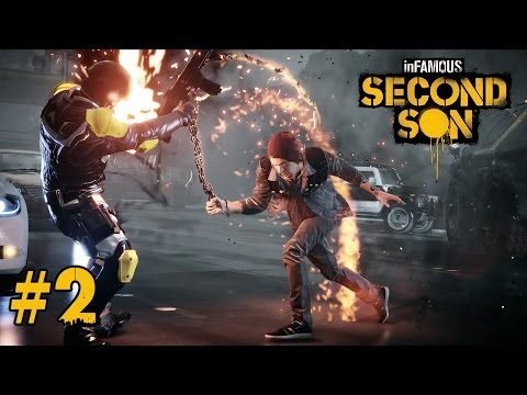 【PS4 惡名昭彰 : 第二之子 inFamous: Second Son】- Part 2 - 大鬧西雅圖