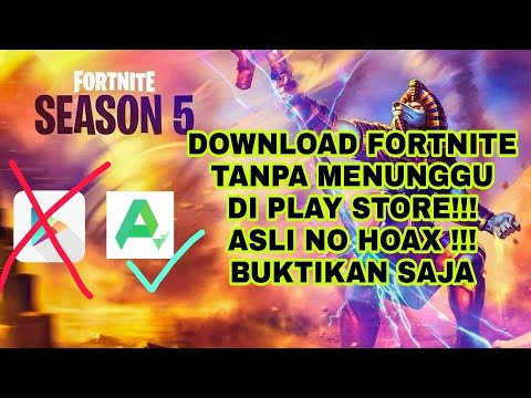 Cara Download FORTNITE ANDROID Tanpa Menunggu Di Play Store, Lama!!!