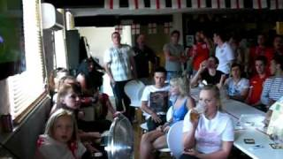 Stourport United Kingdom  city pictures gallery : THE THREE LIONS PUB STOURPORT - England v Slovenia 2010 world cup.