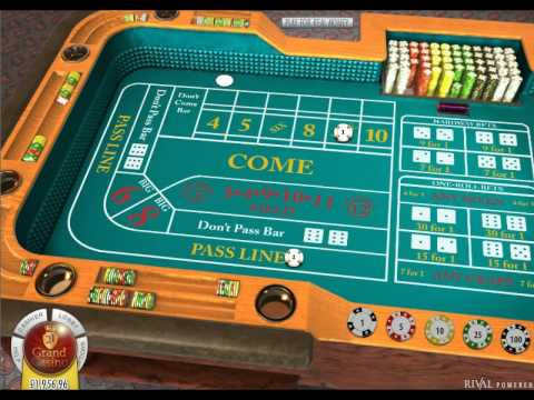 Craps dice game