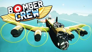 Wrecking HUGE airfield & WWII Fighter Planes | Bomber Crew Gameplay
