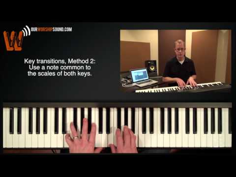 Worship Keyboard: Creating Smooth Key Changes