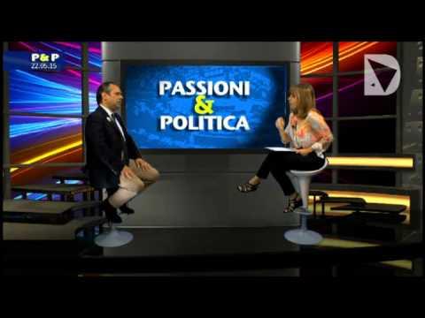 Passioni & Politica - Il candidato governatore di Passione per la Toscana, Giovanni Lamioni intervistato da Elisabetta Matini.