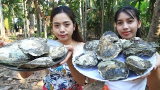 Video Yummy cooking Oyster recipe - Cooking sea food MP3, 3GP, MP4, WEBM, AVI, FLV Maret 2019