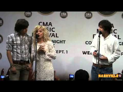CMA Fest The Band Perry Interview  Chevy Test Drive
