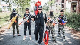 Video LTT Nerf War : Two Special police Attack Crime Group | SEAL X Fight Rescue the lover By Nerf Guns MP3, 3GP, MP4, WEBM, AVI, FLV Januari 2019