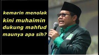 Video Miris..! Setelah Menolak, Kini Muhaimin Dukung Mahfud MD MP3, 3GP, MP4, WEBM, AVI, FLV November 2018