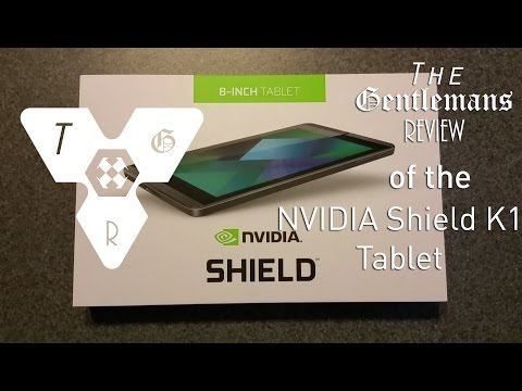 Nvidia Shield K1 Tablet Review