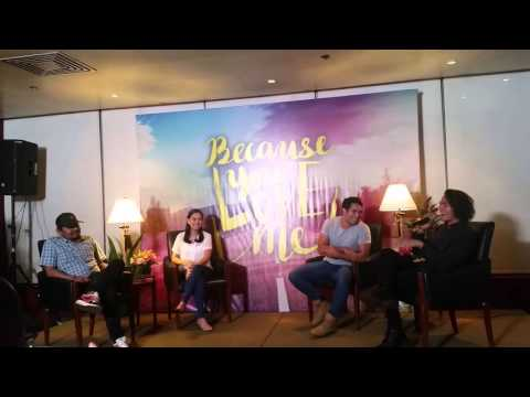 Because You Love Me Presscon Story Line