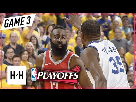 James Harden vs. Kevin Durant Duel - Game 3